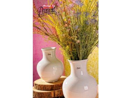 13019 19W Dorota bílá váza 19 cm od Paramit.