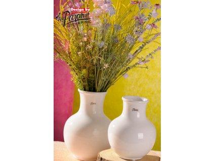 13019 25W Dorota porcelánová váza bílá 25 cm od Paramit
