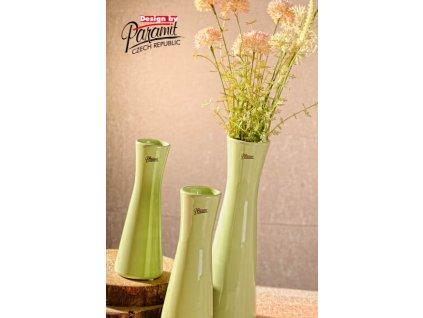 12095 20G Váza Inka 20 cm zelená