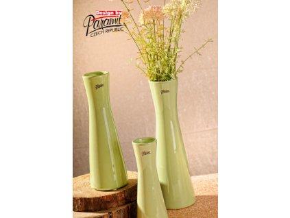 12095 25G Váza Inka 25 cm zelená