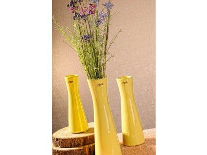 12095 30Y Inka vázažlutá 30 cm