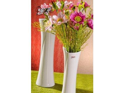 13012 28W Váza Juliana 28 cm bílá