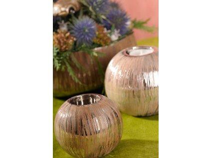 Silvano svícen na čajovou svíčku 10 cm