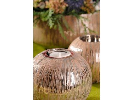 Silvano svícen na čajovou svíčku 12 cm