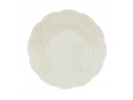 1921-13-00 - Hluboký talíř Memory Cream, 22cm - by inspire