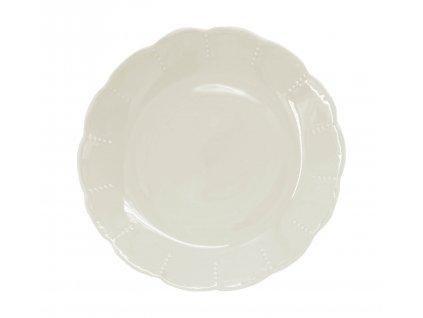 1922-13-00 - Dezertní talíř Memory Cream, 19cm - by inspire