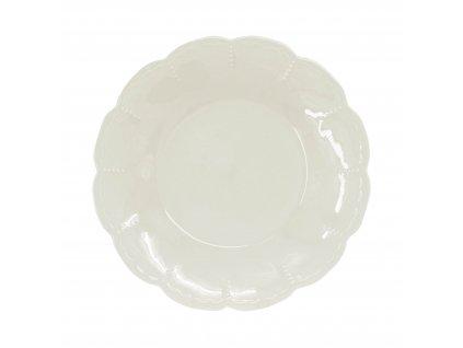1923-13-00 - Mělký talíř Memory Cream, 27cm - by inspire