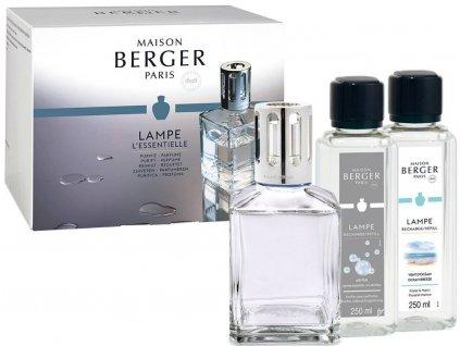 3398 Dárková sada Essentiele Cube set Mořský vzduch 250ml + Neutral 250ml od Maison Berger Paris