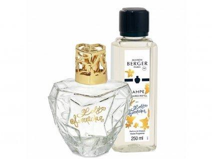 4663 Katalytická lampa LOLITA LEMPICKA a parfém Lolita Lempicka 250 ml dárková sada