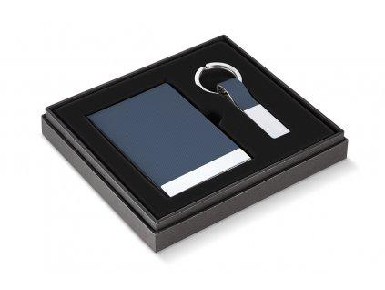 263004 Vizitník a klíčenka TODD modré od Philippi bez krabičky