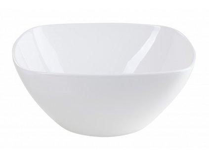 Porcelánová miska 21 cm bílá - by inspire