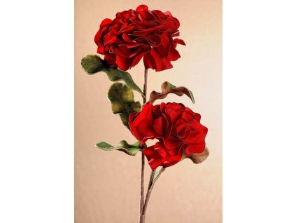 3 145R Umělá květina červená 77 cm od Paramit