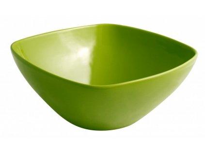 Porcelánová miska 30 cm zelená - by inspire
