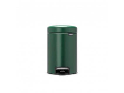 304002 Pedálový koš 3 l NewIcon tmavě zelený od Brabantia