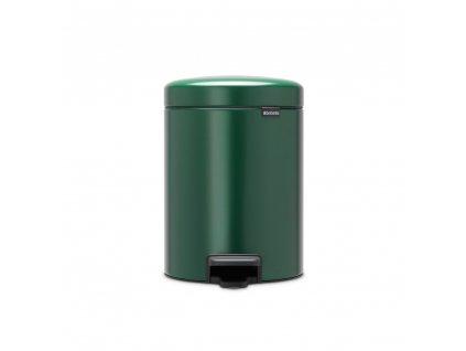 304026 Pedálový koš 5 l newIcon tmavě zelená od Brabantia