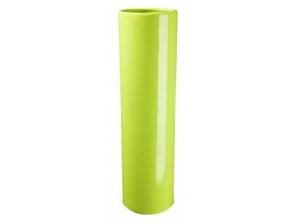 Váza Slot 35 cm světlezelená - by inspire