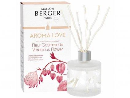 6226 Aroma difuzér Aroma Love s vůní Gurmánské květy 180 ml od Maison Berger Paris