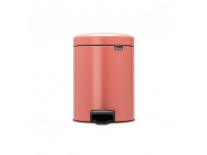 304309 Pedálový koš newIcon 5 l terakota růžová od Brabantia