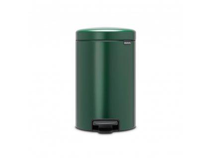 304440 Pedálový koš newIcon 12 l tmavě zelený od Brabantia