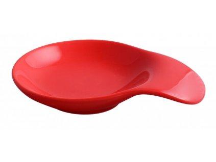 Mísa Lick 15 x 11 cm červená - by inspire