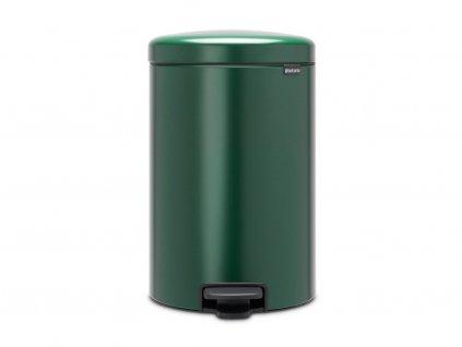 304064 Pedálový odpadkový koš o objemu 20 l v krásné tmavě zelené barvě od Brabantia větší fotka