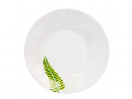 Polévkový talíř 22 cm Kapradí - GINKGO