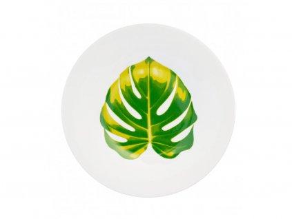 Dezertní talíř 20 cm Monstera - GINKGO