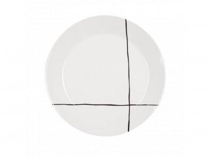 Jídelní talíř 26,5 cm Linky - GRAFICO