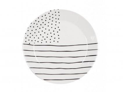 Jídelní talíř 26,5 cm Mix - GRAFICO