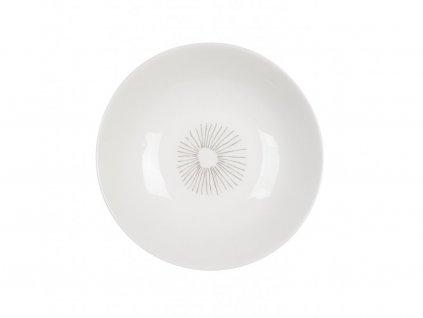 Talíř na polévku 21 cm Záře - LINES