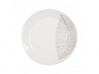 Jídelní talíř 26,5 cm List - LINES