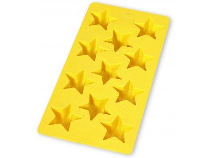 Lékué forma na led hvězdičky žlutá