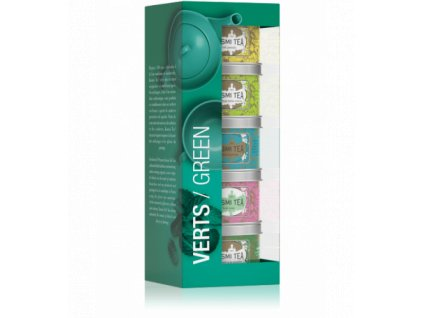 VERT525 kusmi tea dárková sada green vert