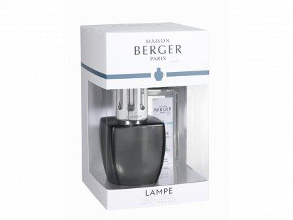 4494 JUNE Katalytická lampa šedá + Voda z Aloe 250 ml od Maison Berger Paris