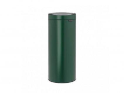 304262 odpadkový koš Touch Bin New 30 l tmavě zelená