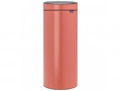 304385 odpadkový koš Touch Bin New 30 l terakota růžová