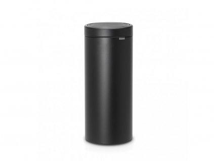 128967 odpadkový koš Touch Bin New 30 l minerální černá