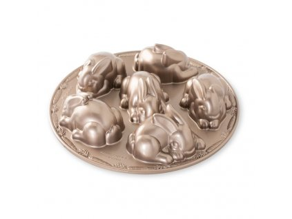 Forma malá králíčci od Nordic Ware
