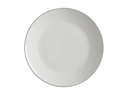 FX0024 EDGE Bílý jídelní talíř mělký 27,5 cm od Maxwelll and Williams