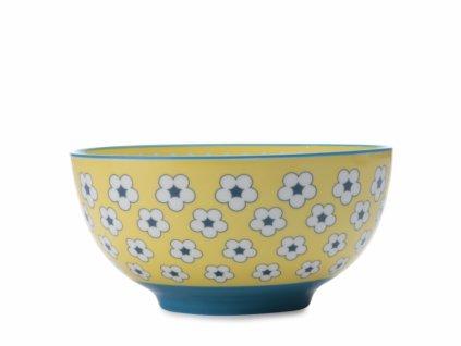 CV10115 Porcelánová miska 15,5 cm žlutá z kolekce Cotton Bud od Maxwell and Williams.