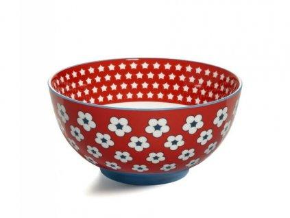 CV11115 Porcelánová miska 15,5 cm červená z kolekce Cotton Bud od Maxwell and Williams.