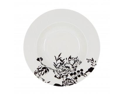 A296 00 67 Polévkový talíř 22 cm z kolekce porcleánu NATTY od by inspire.