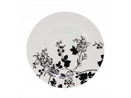 A295 00 67 Mělký jídelní talíř o průměru 27 cm z kolekce porcelánu NATTY od by inspire