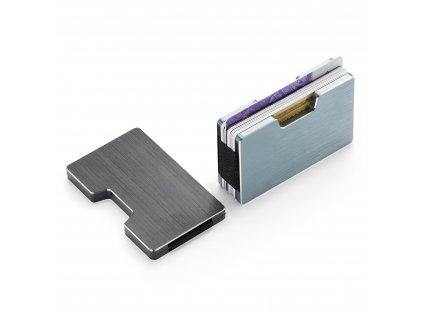 218003 Pouzdro na platební karty COOPER šedé od PHilippi