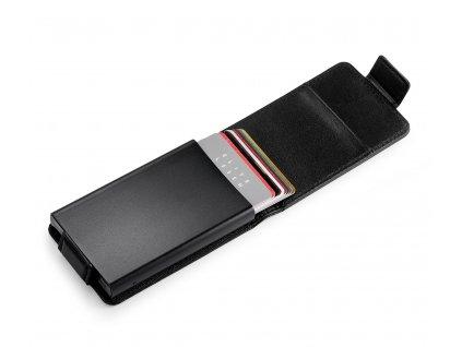 P211013 ECLIPSE pouzdro na platební karty černé od Philippi
