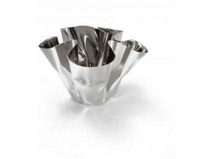 P105010 MARGEAUX Nerezová váza malá od Philippi svícen