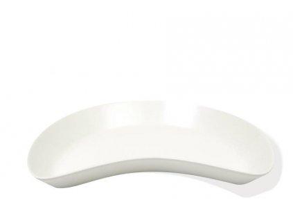 P0422 MOON miska 22,5 cm bílá z kolekce WHITE BASIC od Maxwell and Williams.