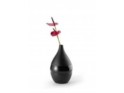 P131005 NEGRETTO Váza černá vysoká od Philippi