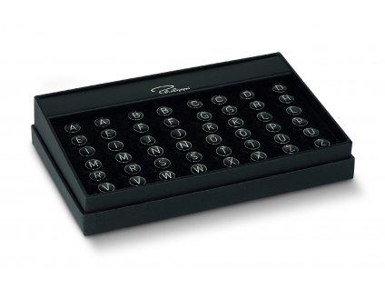 289001a bis 289001z MY INITIALS Manschettenknoepfe SetBox