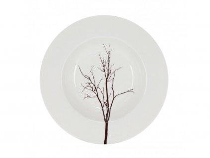 A296 00 18 Talíř hluboký 22 cm TREE OD BY INSPIRE.
